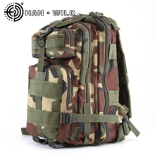 34L Military Assault Backpack Army Waterproof Pack Out Bag Men Desert Rucksack Men Backpack Unisex Army Bag(China)