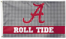 University of Alabama Houndstooth Flag 3x5FT NCAA banner 100D 150X90CM Polyester brass grommets custom66,free shipping(China)