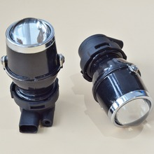 GZTOPHID HID Xenon Fog Lamp Retrofit Projector Lens Universal Using HID Xenon H3 Bulbs