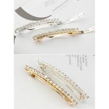 rhinestone hair clips for women wedding hair accessories hairgrips bridal hair pins crystal tiara bijoux cheveux