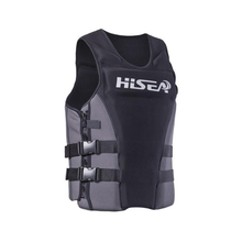 Hisea waterproof Women Men Floating Water Clothes Swimming jacket Neoprere Quality Life Jacket Vest Surfing Fishing Rafting Kids(China)