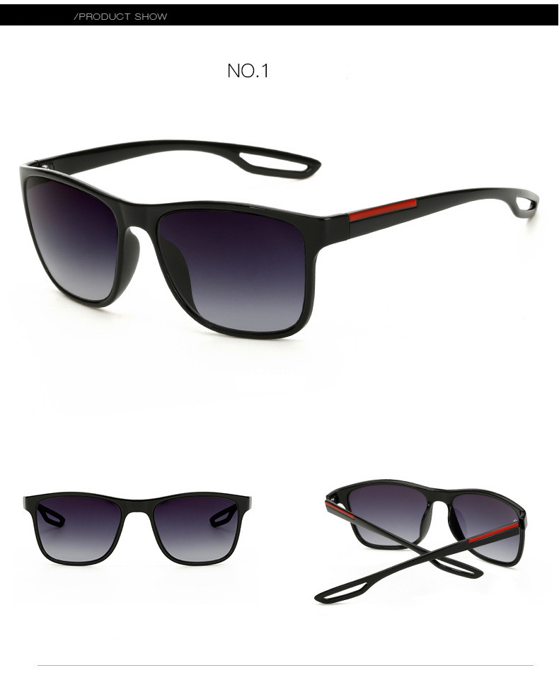 High Quality Square Sunglasses Men Brand Designer Driving Summer Style Points Sun Glasses Men Male Sunglass Mirror Vintage Retro (7)