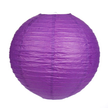 "10pcs/lot 6""15cm/8""20cm/10""25cm/12""30cm/14""35cm/16""40cm Purple color Chinese paper lanterns for home decoration party suppliers"