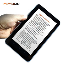 Momomo ebook reader smart with card slot Extended 7inch Touch Screen digital E-book+recording +Video+MP3 music Wifi player #5(China)