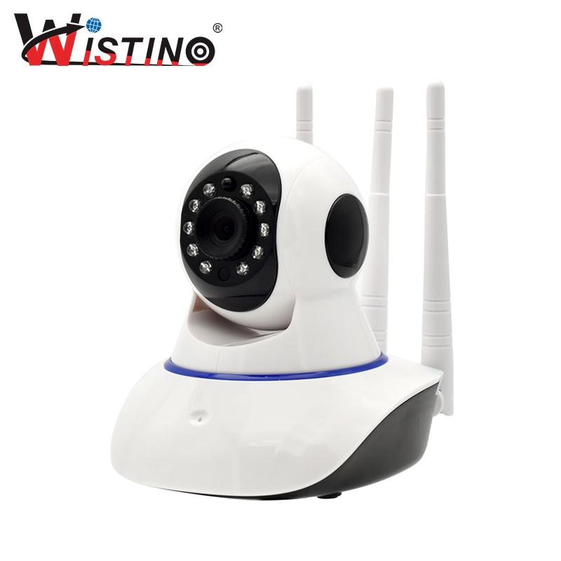 Wistino HD 720P IP Camera WiFi Surveillance Security Camera Alarm Remote CCTV Wireless Camera Night Vision P2P Mini Camera Audio<br>