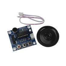 Free Shipping ISD1820 Voice Recording Recorder Module With Mic Sound Audio Loudspeaker(China)
