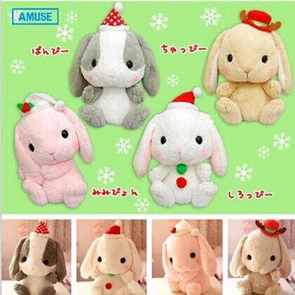 1 pcs 40cm New Cute Japan Amuse Kawaii Long Ear sitting Lop Rabbit Doll Plush Toys PP Cotton Girls Gift<br><br>Aliexpress