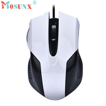 Mosunx Advanced 2017 high quality comfortable mini Fashion 1000 DPI USB Wired Optical Gaming Mice Mouse For PC Laptop 1PC(China)