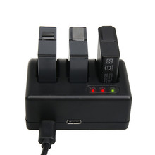 Top Quality Lipo Battery Charger Multi Battery 3 Slots Charging Device For Gopro Hero 5 Camera