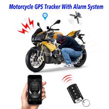 High Quality Motorcycle GPS Tracker + One Way Remote Engine Start Motorcycle Alarm with Android and Iphone APP(China)