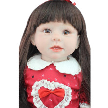 "Soft Silicone Vinyl Doll 28"" Reborn Baby Girl ARIANNA Reborn 70CM Toddler CUSTOM R.Schick Doll Memory Dolls Photography Props(China)"