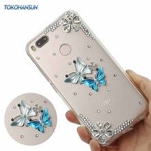 Buy Tokohansun Cases Diamond Xiaomi Mi A1 5x Note 5a Pro Redmi Note 4x Case Luxury Crystal Cell Phone Cover TPU Bumper Fundas for $6.22 in AliExpress store