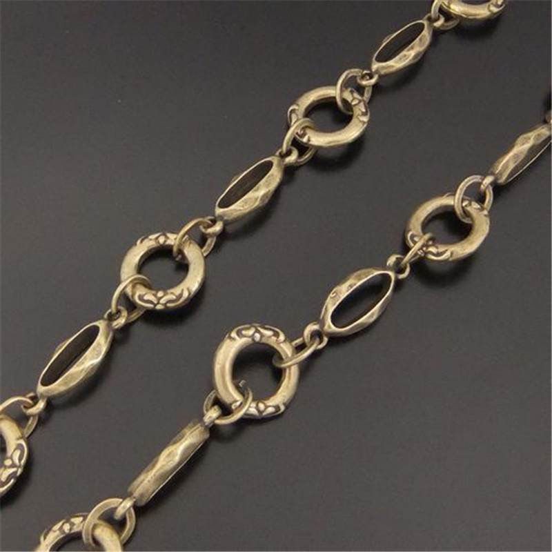 100cm Alloy Long Circle Chain charms jewelry making findings Bracelet Necklace earrings dangle Cable chain Brass Chain 13MM04073(China (Mainland))