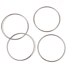 Linking Rings  Tools Baby Kids Connected Magic Tricks Kit Magic Accessories 4 Rings Party Show