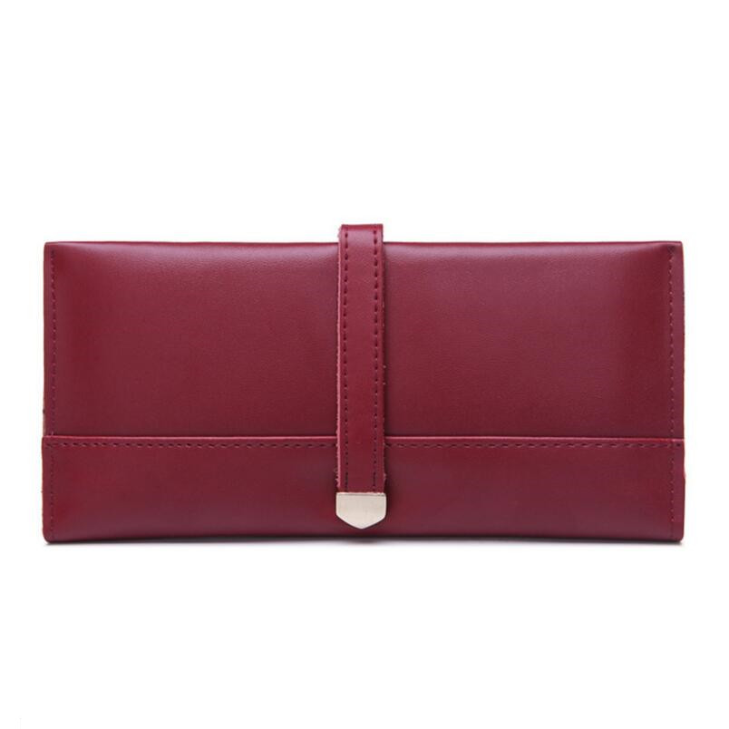 wine red card wallet women wallets womans genuine leather wallet female purse card holder red money bag ladies leather wallets<br><br>Aliexpress