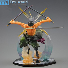 One Piece Action Figure luffy partner Roronoa Zoro Figures 15cm PVC model Toys for kids Best Collection Gifts with retail box