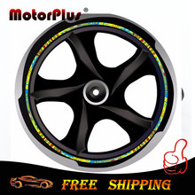 "Motorcycle Sticker Wheel Hub Rim Strip Decal 16""-18"" Valentino Rossi 46 VR46 The Doctor For Honda Yamaha Kawasaki KTM BMW Suzuki"