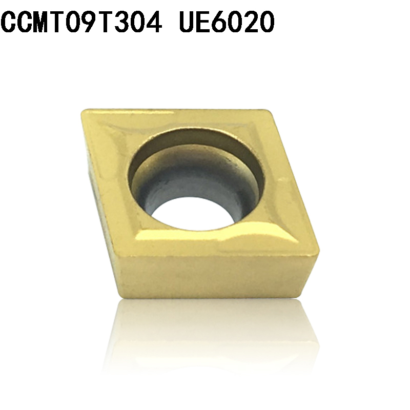 CCMT09T304 CCMT32.51 UE6020 carbide inserts Internal Turning tool CCMT 09T304 face endmills Lathe Tools Milling cutter CNC tool(China)