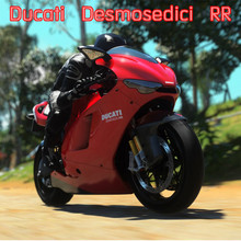 JOYCITY/1:12 Scale/Simulation Die-Cast model motorcycle toy/beautiful Desmosedici RR 2009/Delicate children's toys and gifts