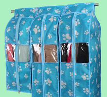 Storage Bag For Clothes Hanging Suit Dust Cover three-dimensional Transparent Organizer For Overcoat Protector 3 Size ss304