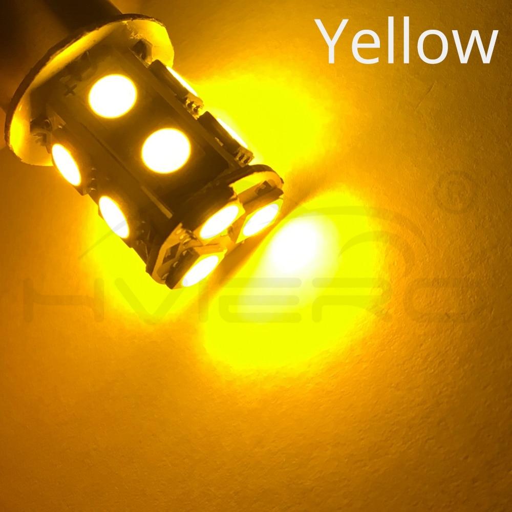 1156 BA15S 1157 BAY15D P21W BA15D 13Led 5050 Car Led Turn Parking Signal Lights Brake Tail Lamps Auto Rear Reverse Bulbs DC 12V (6)