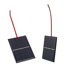 Portable 0.65W 1.5V Solar Panel Mini Solar Power Cell Charger Panel Home DIY Module Solar Cells With Wire