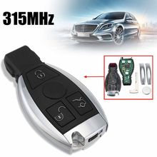 3 Buttons Car Smart Remote Key BGA Chip 315Mhz Mercedes/Benz 2011 2012 2013 2014 2015 2016 2017 2010 2011 2012 2013