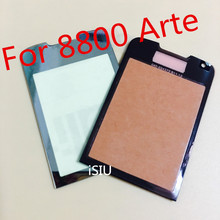 iSIU For Nokia 8800 Arte Touch Screen 8800A Mobile Phone Touch Panel Front Panel Glass Black Gold Brown NO LCD DISPLAY DIGITIZER(China)