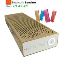 Original Xiaomi Mi Bluetooth Speaker Wireless Stereo Metal Body Mini Portable Bluetooth 4.0 Aux Micro SD MP3 Player Handsfree(China)