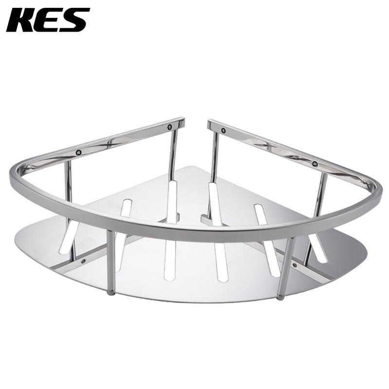 KES A2220A Bathroom Corner Triangular Tub and Shower Caddy Basket ...