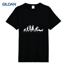 Custom Funny T Shirt 2017 Evolution Of Drunk Mens T Shirt Fashion Spring Fit T-Shirt Tops Tees Top Gildan
