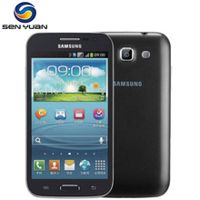 Original Samsung Galaxy Win I8552 Android ROM 4GB Wifi Quad Core Cell Phone 4.7'' Touch screen Free shipping(China)