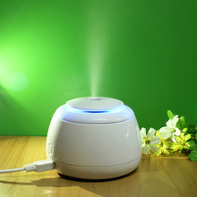Mini LED Night Light USB Office Air humidifier Mute Anion Aroma Diffuser Ultrasonic Mist Maker Fogger Lonizer Atomizer