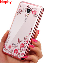 Nephy Case For Meizu M3s M5s M 3s mini 5s / M3 Note/ M5 Note/ M6 Note / U10 U20 Meilan Mobile Phone Cover Glitter Silicon Casing(China)