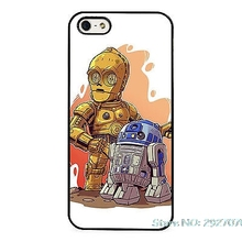 CP30 R2D2 Droid Star Wars Robots Mobile phone cover case for iPhone 4s 5s 5c 6 6s 7plus Samsung galaxy s3 s4 s5 s6 s7 S7 edge