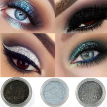Brand Makeup 12 Colors Eye Shadow Flash Powder Super Bright Pearl Shining Bright Glitter Powder Pink Diamond Shimmer Eye Shadow