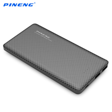 PINENG PN - 958 10000mAh Dual USB Mobile Power Bank Shake Motion Activated External Portable  Intelligent Charger
