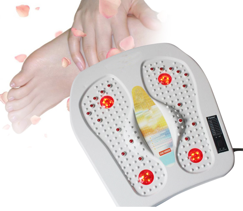 Far Infrared Heat Foot Massager Vibrating Massage Blood Circulation Pain Relief<br>