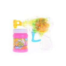Bubble Gun Shooter Blower Outdoor Kids Child Toys Random Color Good Gift for your Kids Shining(China)
