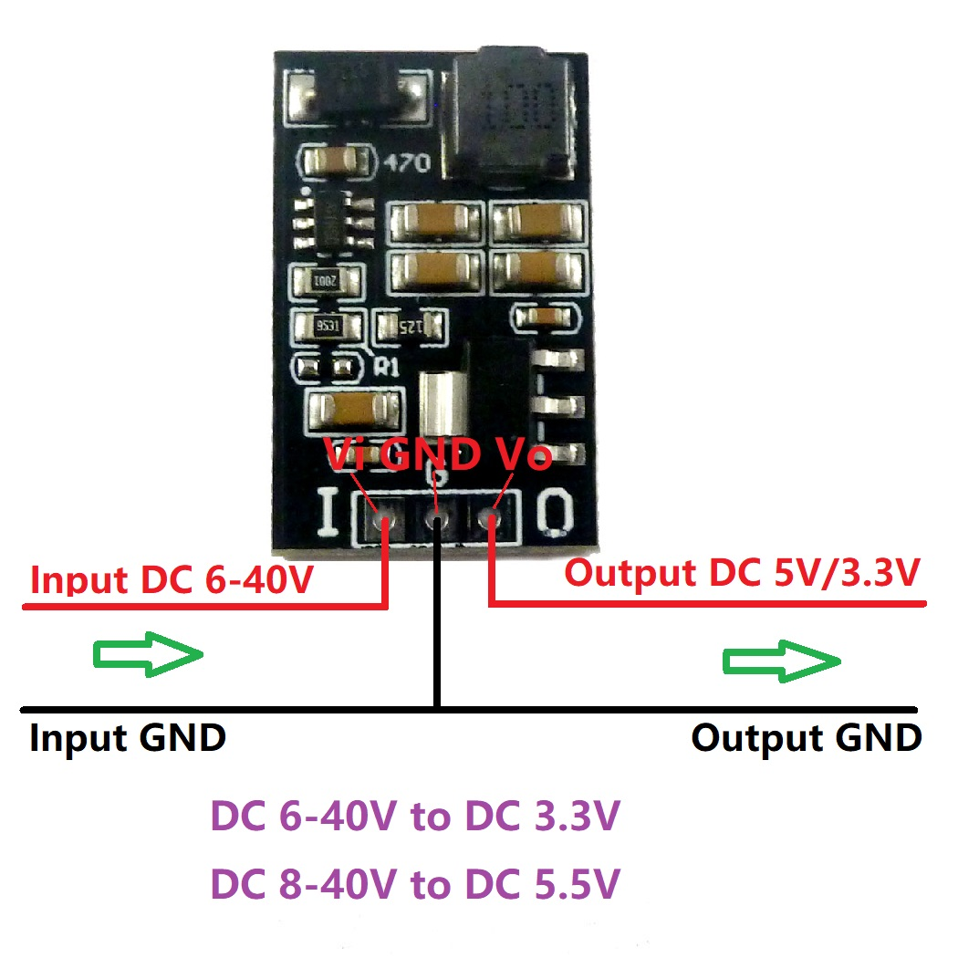 Nrthtri smt Mini Functional Power Supply and USB HUB Support Power Charging Data Transport Fit for Raspberry Pi Board