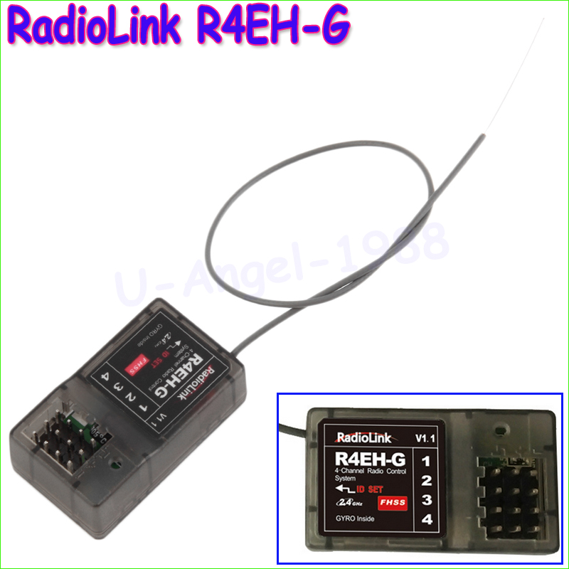 1pcs Original R4EH-G 2.4G 4CH Receiver For Radiolink RC3S RC4G Transmitter RC Car Boat Wholesale<br><br>Aliexpress