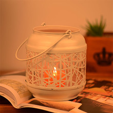 2017 Vintage Candle Holder Europe Birdcage Lantern Continental Iron Candle Holders Wedding Home Decoration Candlestick