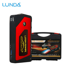LUNDA Best Quality 12V Portable Mini Jump Starter Car Jumper Booster Power Mobile Phone Laptop Power Bank Battery Charger