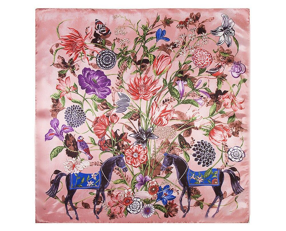 Floral Print Scarf (11)