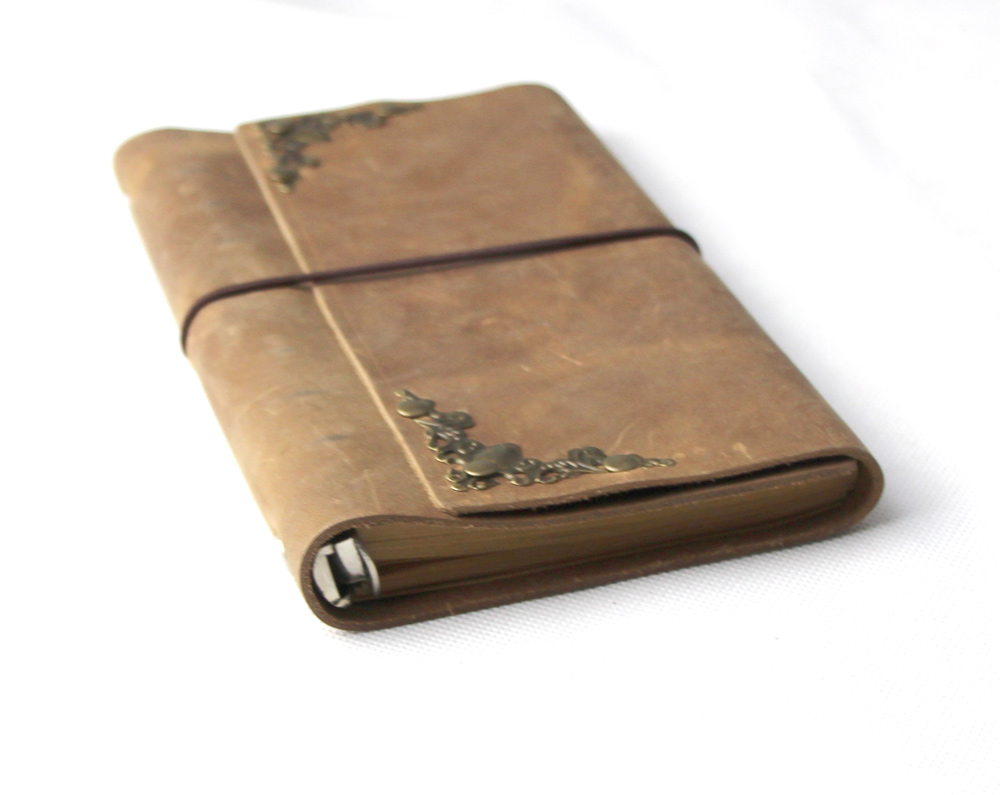 new arrival Business Travelers Notebook Leather diary  looes leaf journal  Cute Kawaii Note book Planner Notepad BK09<br>