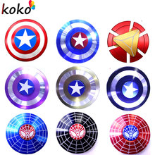 Buy fidget Spinner Super Hero Iron Man Captain America Ironman Hand Fidget Spinner Finger Toys Anxiety Anti-stress Adults Toy for $1.91 in AliExpress store