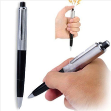 1 Pc Hot Sale Funny Pen Electric Shock Joke Prank Trick Toy Gift For Fun And A Shocking Experience(China)