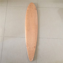 "Wholesale 42.875"" OEM Blank 7 layers Skateboard Deck Maple Longboard Flat-Plate Deck DIY Patterns Decks(China)"