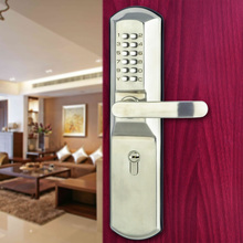 Anti-theft locks mechanical stainless steel exterior code big door locks(China)