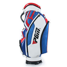PGM Mens Golf Standard Ball Package Waterproof PU Bag Golf Club Can Hold An Umbrella Blue White Red High-quality Quality Goods
